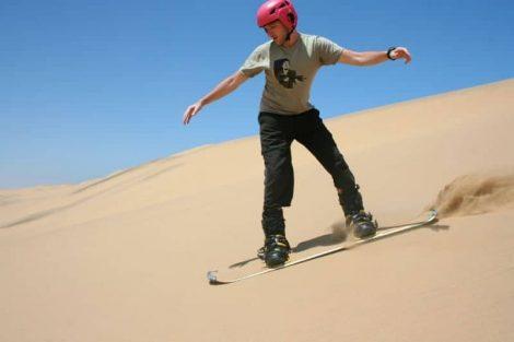 Namib sandboard - Kris Griffiths