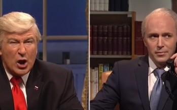 """Prepare for war"" Baldwin's Trump tells Australia [WATCH]"