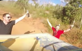 How do you catch a drone in Australia? In the back of a ute, mate [WATCH]