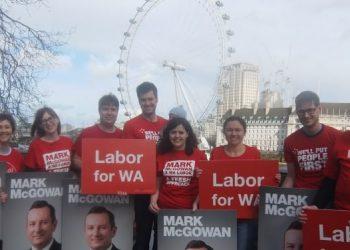 Australia election London - ALP Abroad