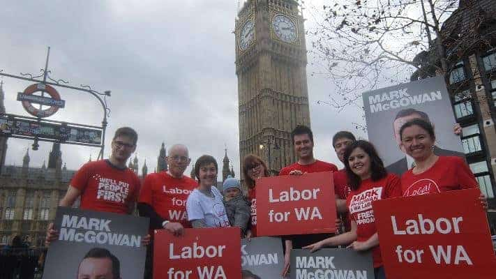 Australia election London - ALP Abroad - Big Ben