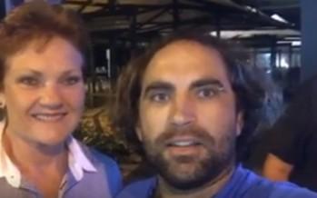 "Pauline Hanson pranked: ""Say, I'm a racist"" [WATCH]"