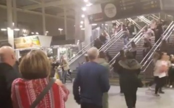 VIDEO: Ariana Grande fans flee explosion at Manchester Arena. Multiple deaths confirmed in suspected terror attack