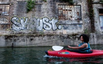 Rediscovering cool East London… by kayak [PHOTOS]