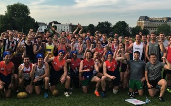 Support the AFL 'freeze' for MND this weekend on Clapham Common in London
