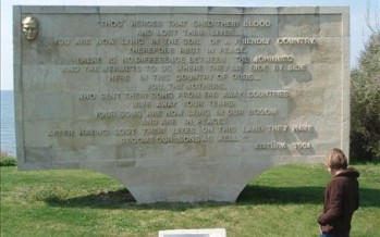 Anzac Cove memorial getting an Islamist makeover?
