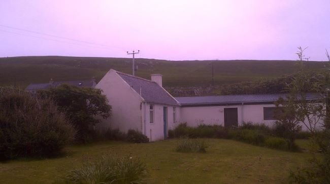 My 'peerie house' home on Fetlar.