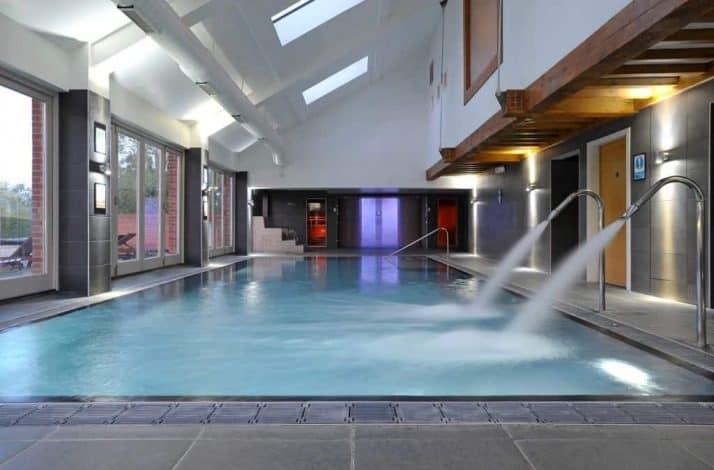 Congham Hall spa swimming pool
