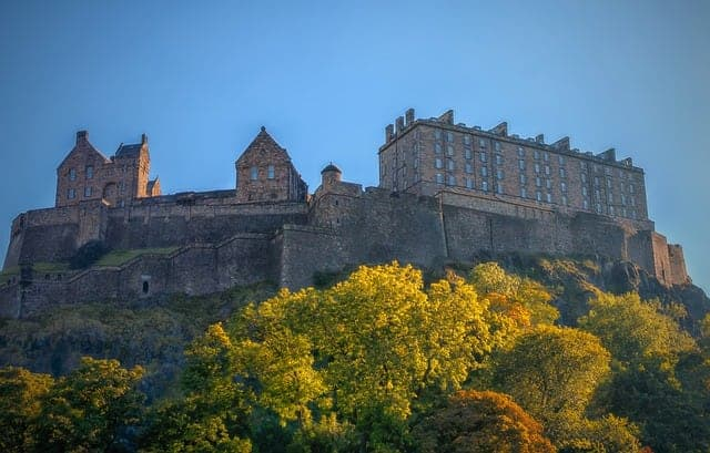 Edinburgh Castle (Via Pixabay.com)