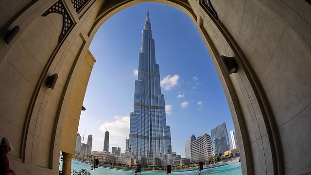 The Burj Khalifa (Pixabay)