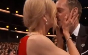 Nicole Kidman wins Emmy and award for steamiest celebration