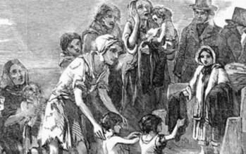 Australia's proud Irish heritage owes much to the terrible potato famine