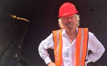 Branson backs futuristic 'faster than a plane' Hyperloop train to go from London to Edinburgh in just 50 minutes