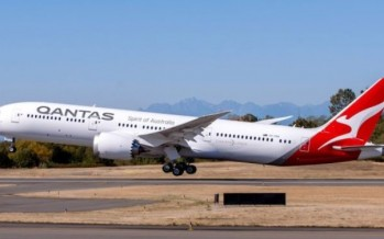 Qantas takes delivery of new Dreamliner for non-stop Australia to London flights [VIDEO]