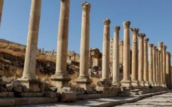 Visiting Jerash in Jordan was a big, pleasant surprise