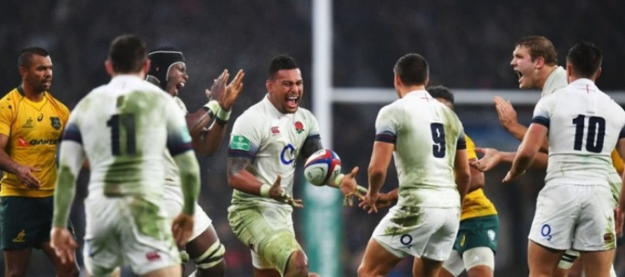 International Rugby round-up: Wallabies fall to England again in cracking match