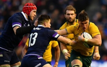 International rugby wrap: Shock loss to Scots ends Wallabies' year on sour note