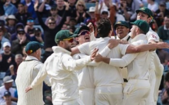 ASHES: Aussies can celebrate while crushed England lay in tatters