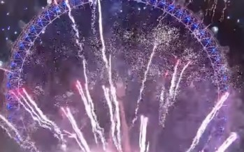 London's grand New Year's fireworks sees in 2018 with a bang [FULL VIDEO]