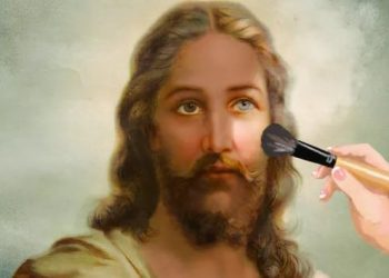 Jesus white or brown or black