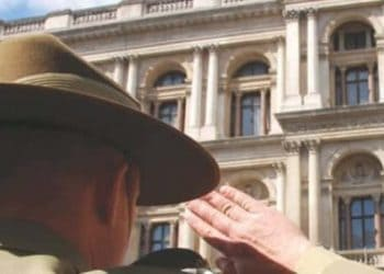 Anzac Day service in London