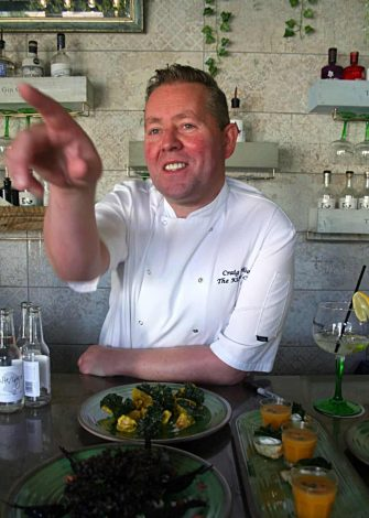 'Kilted Chef' Craig Wilson (c) Kris Griffiths