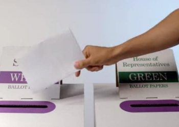 vote in Australian election