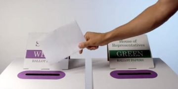 vote in Australian election