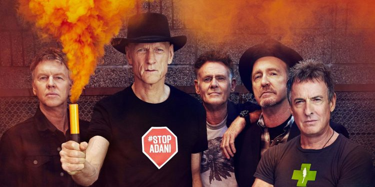 Midnight Oil - live in London 2019