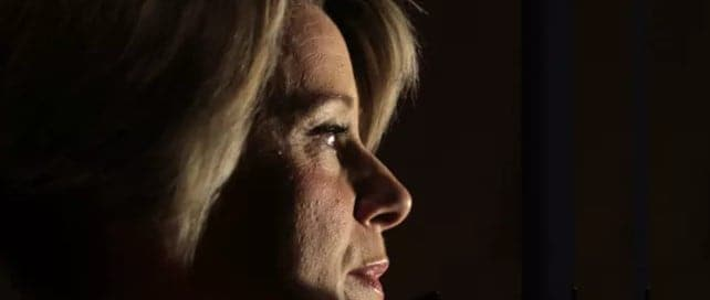 Kristina Keneally will face off against Peter Dutton. (Ben Rushton/Mick Tsikas/AAP/TheConversation)