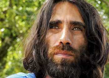 Iranian Kurdish poet Behrouz Boochani, a long term detainee on Manus, wrote about the cruelty he witnessed in detention in his book, No Friend but the Mountain. (Amnesty International via AAP/The Conversation)
