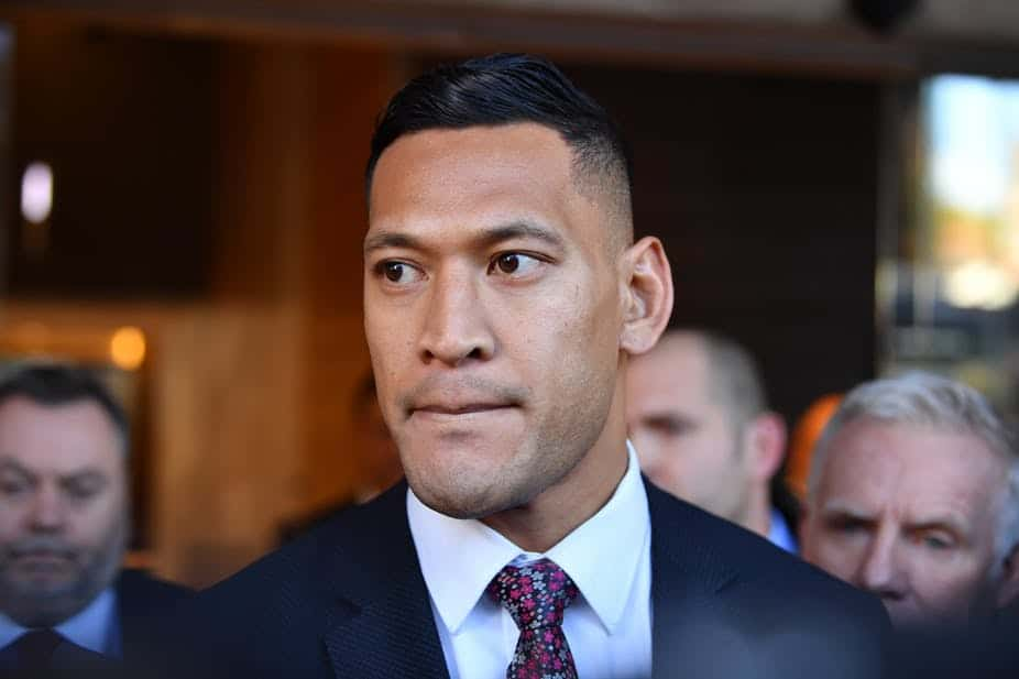 If this bill had been law when Rugby Australia sacked Israel Folau, he might have chosen to pursue a federal discrimination case. (Joel Carrett/AAP/The Conversation)