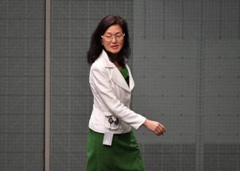 Liu won the marginal seat of Chisholm at the May election, making history as the first female Chinese-Australian MP. (Mick Tsikas/AAP/The Conversation)