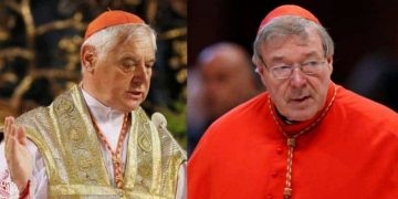 Cardinals Pell and Muller: battling for their vision of the Church of Rome. (triablogue.blogspot.com)