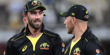 Glenn Maxwell is one of three Australian cricketers who recently opened up about mental health. AAP Image/Darren England/The Conversation