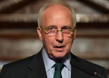 Paul Keating. (Darren England/AAP/The Conversation)