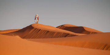 Morocco desert. (Image by Cuyahoga from Pixabay)
