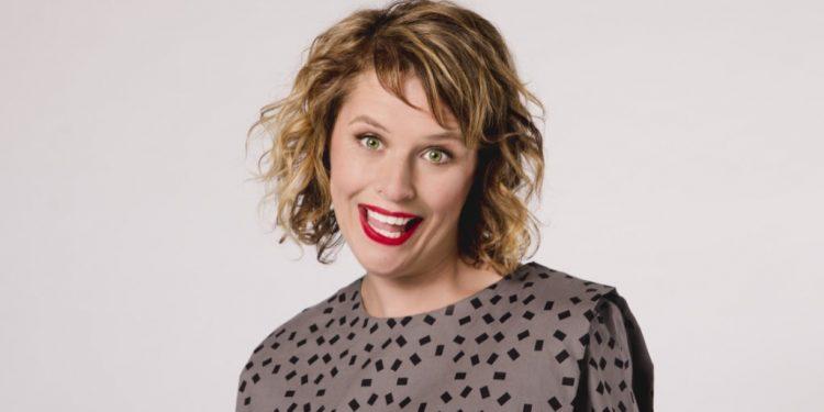 Anne Edmonds headlines this year's Aussie comedy feast on Australia Day.