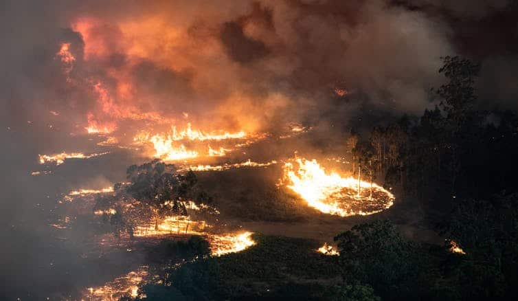 Australia is a bushfire-prone nation. But several factors make this fire season worse than those past. (Image supplied: Victorian Government/The Conversation)