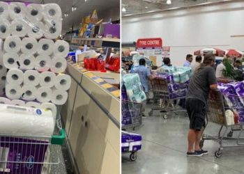Toilet paper, Australia, coronavirus