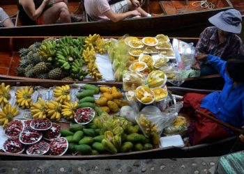 Fruits Boats Cooking Food Travel Tropical