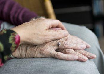 Hands Old Old Age Elderly Vulnerable Care
