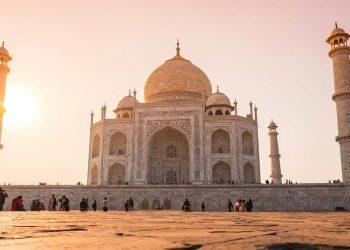 India Taj-Mahal Agra Grave Temple Tomb Travel