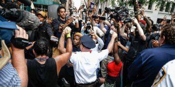 Washington police assault of Australian TV crew