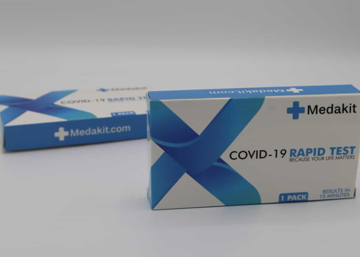 the new coronavirus saliva test
