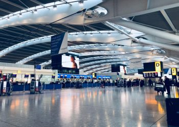 Empty airports. Photo by Belinda Fewings on Unsplash