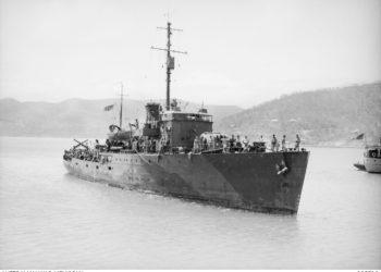HMAS Armidale. Photo credit: Australian War Memorial.
