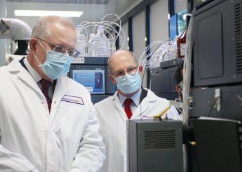 Scott Morrison hypes vaccine hopes