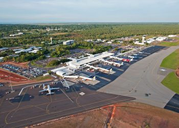 Darwin Airport. Will it soon be welcoming more interstate travellers? Photo credit: Wikimedia Commons