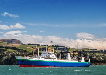 The NZ-flagged fishing vessel, the MV Irvinga. Photo credit: Independent Fisheries website